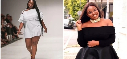 Sad! Plus-size model breaks down in tears as online body-shamers target her during fashion week