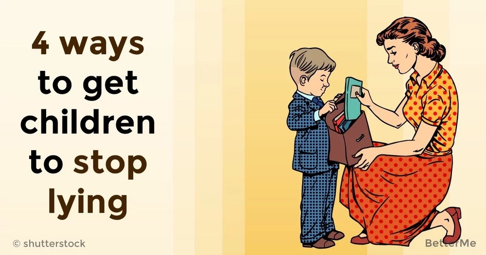 4 ways to get children to stop lying