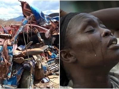 Abiria waaga dunia katika ajali mbaya barabarani Voi (picha)