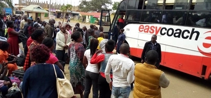 Travelers in Bungoma exchange blows over a seat as NTSA night ban intensifies