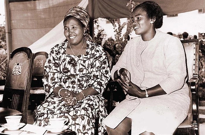 TBT: Photo of Mama Ngina, Lena Moi and Lucy Kibaki in 1967