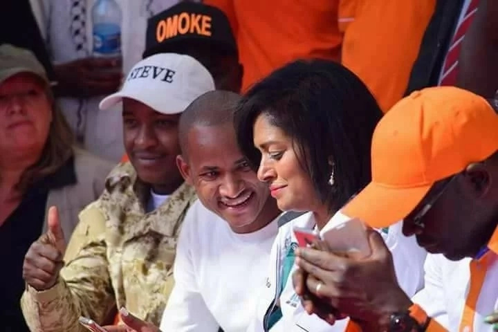 More controversial and suggestive photos of Esther Passaris and Babu Owino emerge