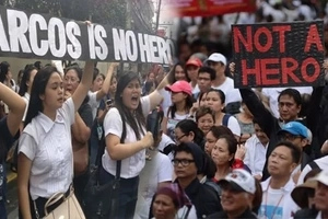 Di kami papayag! Martial law victims and millennials to join hands on Friday to protest Marcos burial