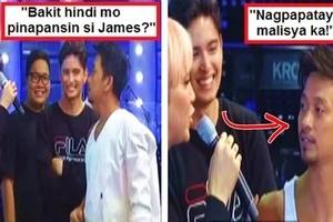 Vice Ganda confronts Jhong Hilario for ignoring James Reid on It's Showtime: 'Hindi mo pinapansin si James... Nagpapatay malisya ka!'
