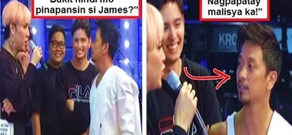 Vice Ganda confronts Jhong Hilario for ignoring James Reid on It's Showtime: 'Hindi mo pinapansin si James... Nagpapatay malisya ka!'