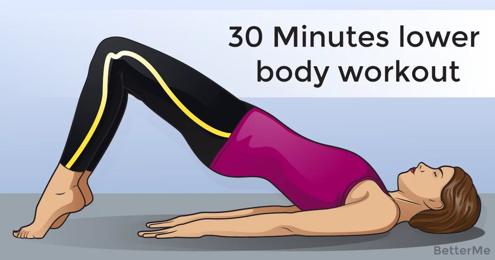 30-minute lower body workout