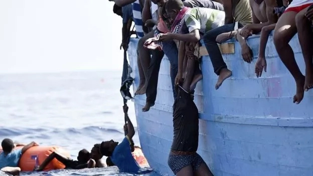 "In search of better life! Africans trying to reach Europe sold by their captors in ""SLAVE markets"""