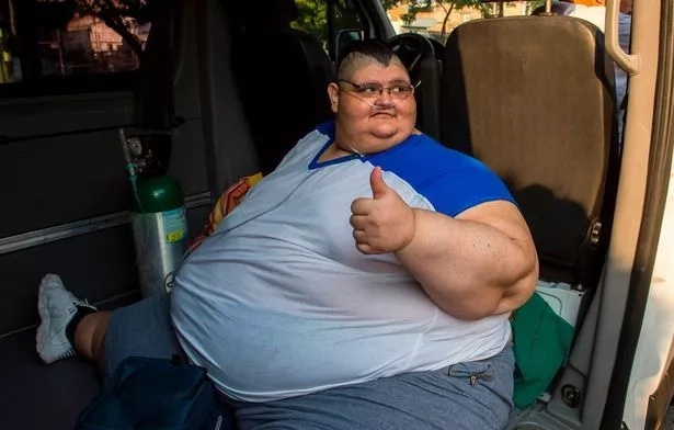 Juan Pedro Franco is believed to be the world's fattest man