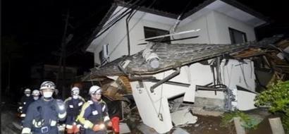 Japan quake kills at least nine, injures more than 800