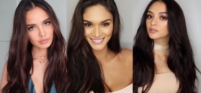 More explosive behind-the-scenes photos of Pia, Megan and Kylie netizens would swoon over and over again