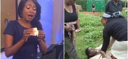 Kenyan lady gives her husband unexpected visit and gets the shock of her life