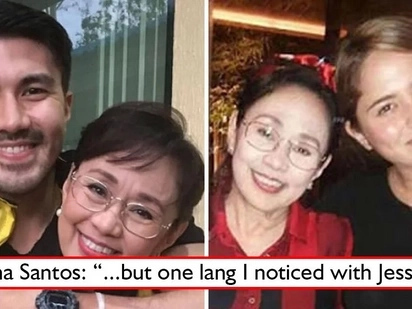 Napa 'oo' niya rin! Jessy Mendiola breaks tough barriers of Vilma Santos and the Star for All Seasons finally reveals one thing she likes about Jessy