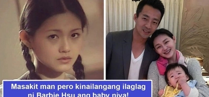 Masakit na desisyon! Barbie Hsu, Meteor Garden's Shan Cai, terminates pregnancy after baby's heart stopped beating