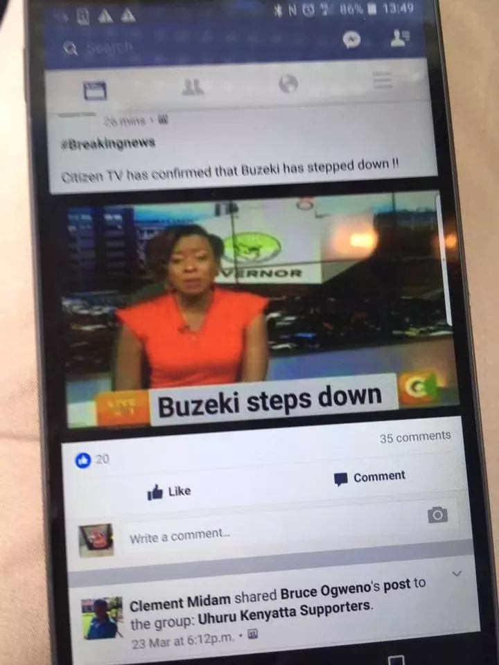 Political 'broker' finds himself in hot mess with Citizen TV after his fake post went viral
