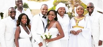 Uhuru Kenyatta's son and five other Celebrities who got married in 2016 (photos)