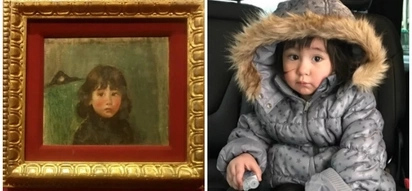 Paano nangyari ito? Scarlet Snow Belo shares Juan Luna's art piece of a little boy who oddly looks like her