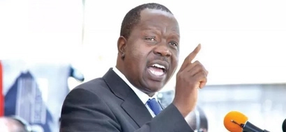 This is what Matiang'i had to say at the end of KCPE exams