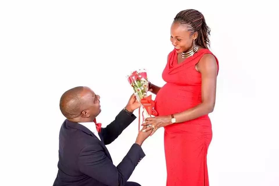 Kenya's hottest athlete Mercy Cherono celebrates Valentine's day with intimate baby bump photoshoot