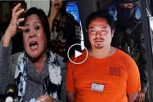 Pinilit daw: Worried De Lima accuses fierce enemies of forcing Sebastian to testify against her