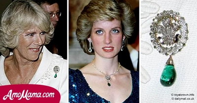 Camilla was a rival of Diana. But now she enjoys wearing Princess' $5 million brooch in public