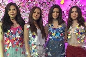 New girl group? Janella, Julia, Liza, and Kathryn bonds for ASAP