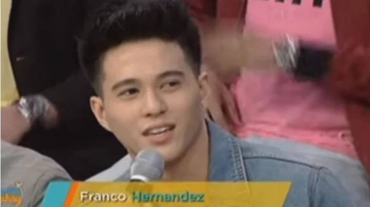 """""""Matagal pa naman kami magkakasama."""" Franco envisioned himself staying with the Hashtags for the next few years"""