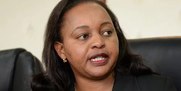 Raila will NEVER be president- Waiguru punches Raila below the belt