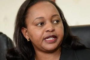 NYS suspect Anne Waiguru surprises everyone with her running mate choice