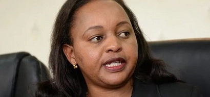 PHOTO: CS Waiguru Appears Before Anti-Corruption Commission