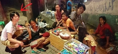 This Japanese keeps on coming back to the Philippines not as a tourist but to feed the county's poor!