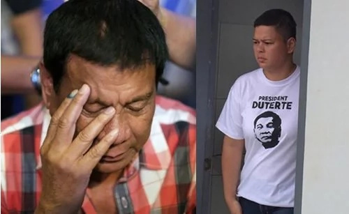 Duterte cries when daughter Sara lost identical twins
