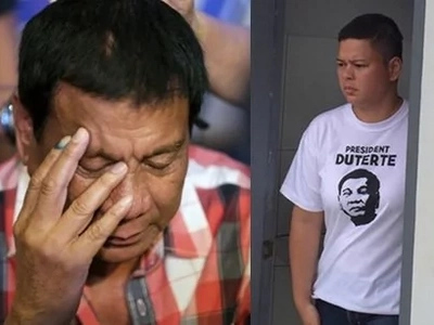 Duterte sheds tears after pregnant daughter Sara lost two of triplets