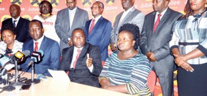 Gavana wa Jubilee kutoka Kati 'AFUTILIA MBALI' shughuli ya uteuzi