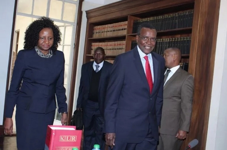 CJ Maraga starts giving judicial officers headache