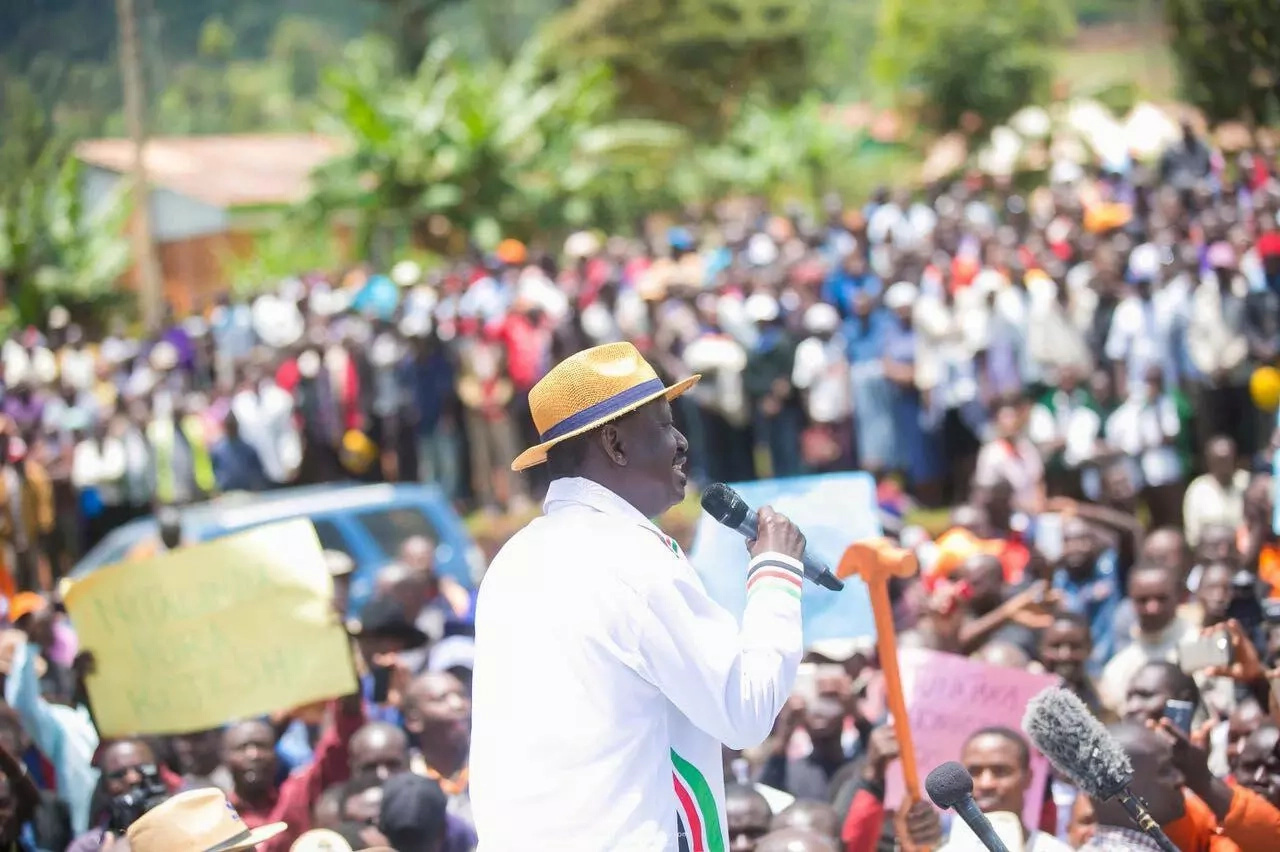 Kenyans are so angry at Raila following his rejection of new presidential election date