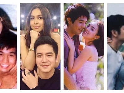 Nakakakilig naman sila! Awesome photos comparing Julia Barretto & Joshua Garcia to Claudine Barretto & Rico Yan stun netizens!