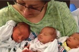 Mamá de cinco niños murió 10 días después de tener trillizos