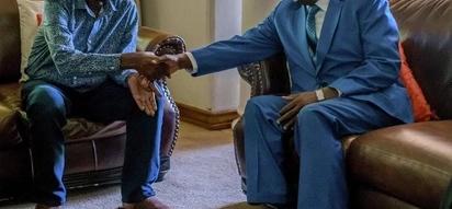 Zimbabwe: Rais mpya amtembelea kinara wa Upinzani anayeugua Morgan Tsvangirai