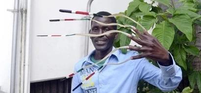 Mkenya aliye na kucha ndefu zaidi alenga kuvunja rekodi ya ulimwengu