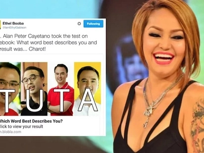 Charot lang: Ethel Booba hits controversial people with only four letters