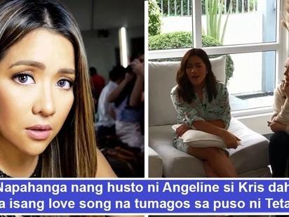 Haba ng hair! Angeline Quinto napahanga nang husto si Kris Aquino sa pag-awit ng love song na tumagos sa puso ni Tetay