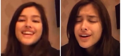 How charming Liza Soberano when she covers hit 'Cup' song? Watch her!