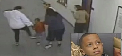 Cruel school counselor repeatedly KICKS 7-year-old special-needs student for running away from class (photos, video)