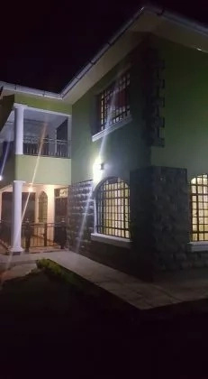 Massawe Jappani's newly built house in Kitengela