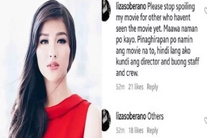 Grammar police! Liza Soberano corrects own grammar in post pleading to netizens
