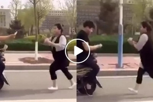 Find out why this Chinese couple has one of the most convincing workout methods ever!