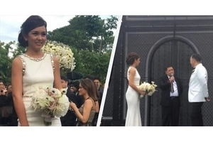 Wow! Beauty Gonzales and Norman Crisologo's Elegant and Romantic Wedding Will Surely Fascinate You