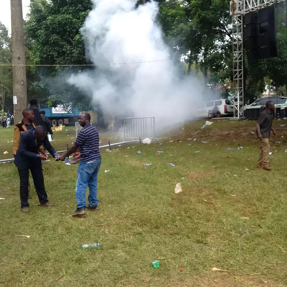 Explosion reported at Moses Wetangula's launch event