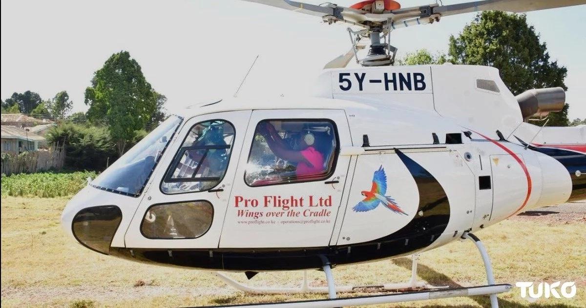Kipchumba Murkomen offers chopper ride to top KCSE performers from Singo're Girls