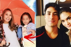 Cute photos of Kit Barraquias' twin daughters have gone viral! Check them out to find out if they look like Marlon Stockinger!
